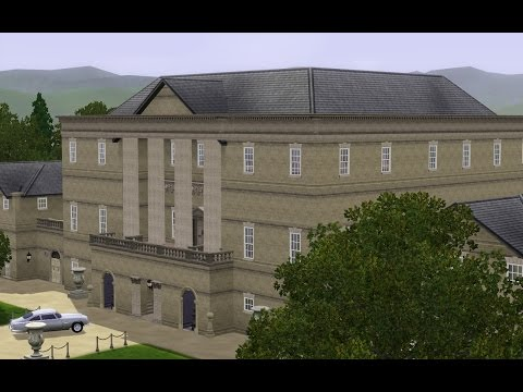 The Sims 3 - Basildon Park (Stately Home)
