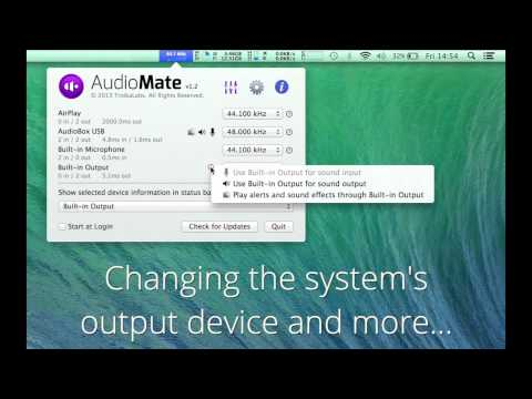 AudioMate 1 2 update now available   The 9Labs Blog