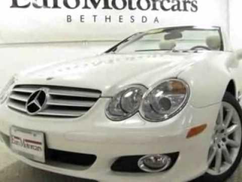 2007 mercedes benz sl class sl550 convertible bethesda for Mercedes benz bethesda md