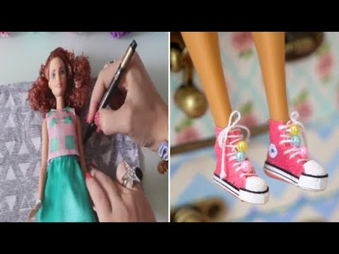 Barbie Clothes 👖 DIY Barbie Clothes 😍 Barbie Baby Dolls Clothing 💖