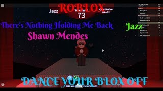 Roblox- Dance Your Blox Off- There's Nothing Holding Me Back- Jazz