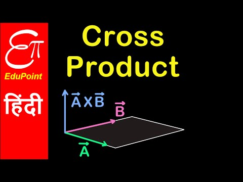 Cross Product of two vectors | in HINDI by EduPoint