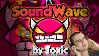 BASS KNIGHT ( ͡° ͜ ͡°) Soundwave [DEMON] by ToxicGD and Codex | Geometry Dash