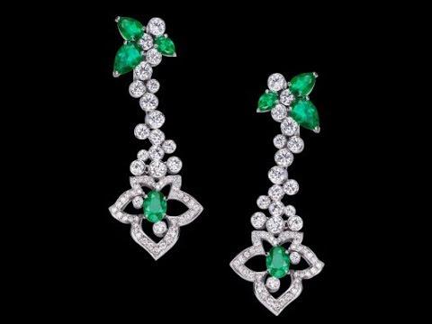 modern Gemstone Earrings Collections || Handmade Gemstone Earrings