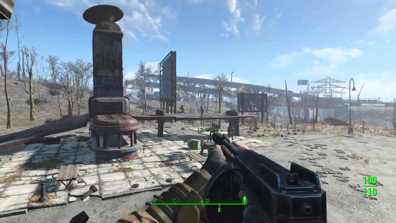fallout 4 starlight drive in base youtube