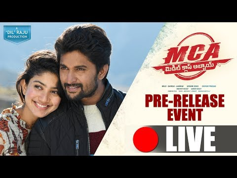 MCA - Middle Class Abbayi Pre Release...