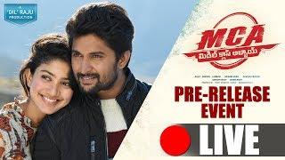 MCA - Middle Class Abbayi Pre Release Event Live || Nani, Sai Pallavi || Dil Raju || DSP