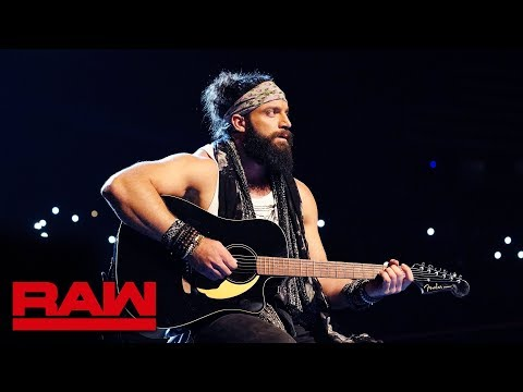 Elias Sings The Blues After WWE Super Show-Down Loss: Raw, Oct. 8, 2018