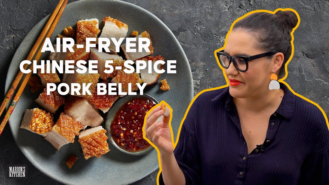 The battle for the best ever pork belly: air fryer vs. deep fried!   Marion's Kitchen