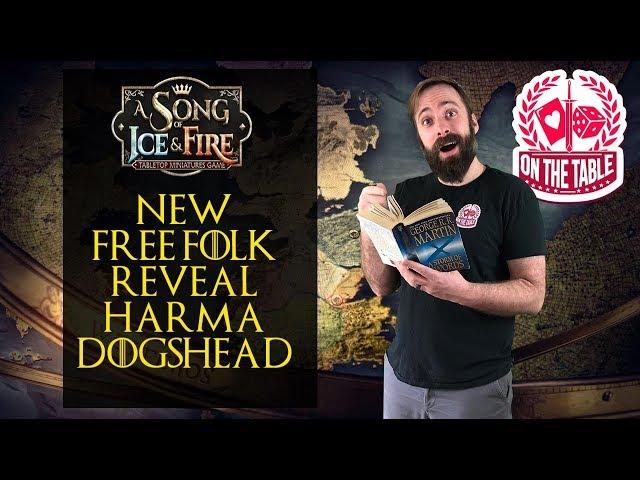 New Free Folk Commander for ASOIAF TMG - Harma Dogshead!