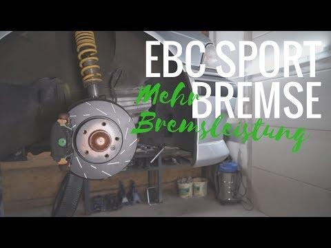 EBC Bremsen + Greenstuff Bremsklötze   3er BMW E36 320i