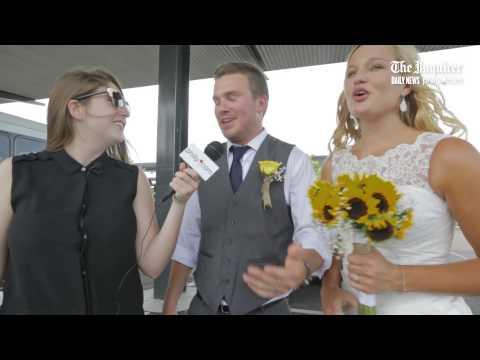 Couple weds outside of Taylor Swift concert in Philadelphia