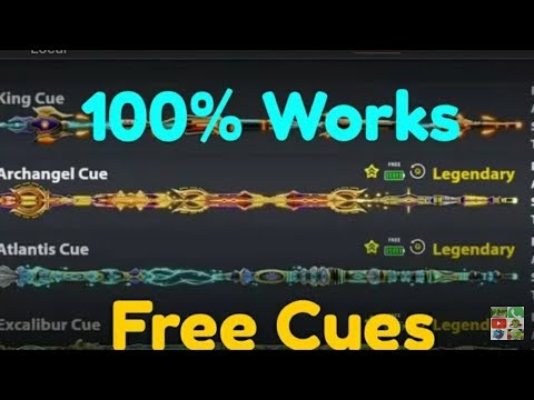 How To Get 8 Ball Pool Cues 2018- Get All Legendary Cues Free- No Route/No Apk. 100% Work