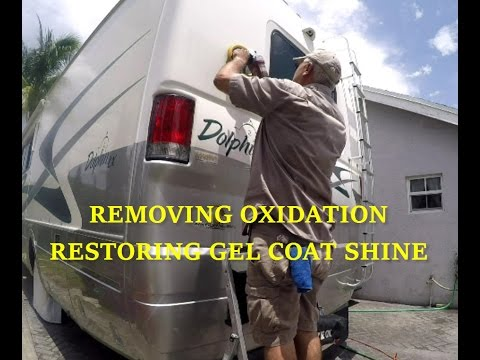 remove-oxidation-|-restore-gel-coat-shine-fiberglass-rv-or-boat-using-meguiars-compound-&-polish-kit