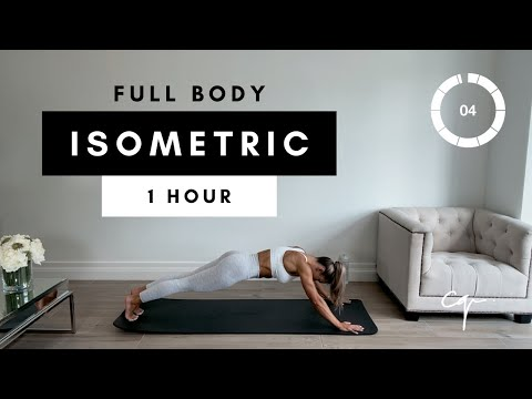 1 Hour ISOMETRIC FULL BODY WORKOUT at Home | Day Four of Five