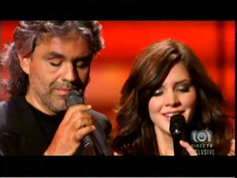 ANDREA BOCELLI - 49 & KATHARINE McPHEE - 23 - BEST DUET IN THE HISTORY OF PLANET EARTH - 2007