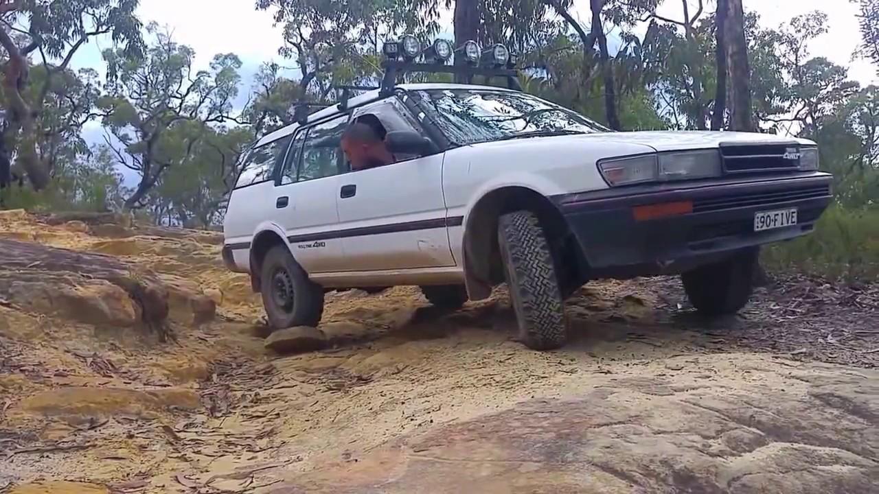 Toyota Corolla Tires >> AE95 Corolla 4WD Offroad #1 (26/12/2016) - YouTube