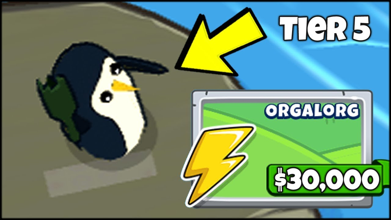 The 30 000 Tier 5 Upgrade Of The New Penguin Tower