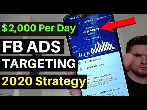 Watch Me Laser Target 3 WINNING Products With Facebook Ads | Shopify Dropshipping Tutorial 2020 thumbnail