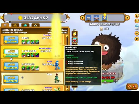 Clicker heroes advanced gilding guide for mid late game youtube
