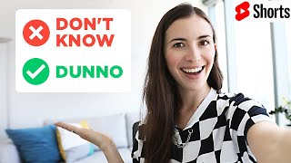 How to speak English fast and understand natives #Shorts