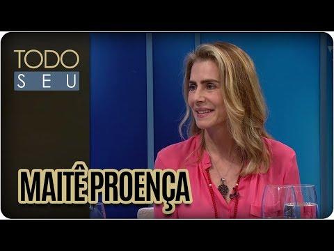 Entrevista com Maitê Proença - Todo Seu (15/03/18)