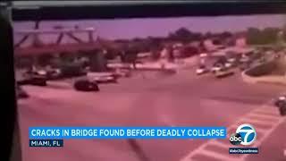 2 cars, 3 bodies removed from collapsed Florida bridge debris I ABC7