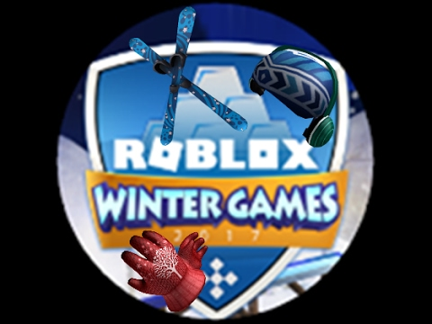 Roblox Winter Games 2017 All Prizes [Ended]