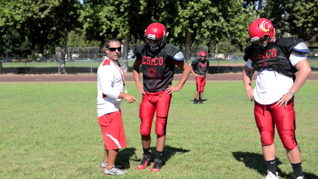 Chico High Football Practice