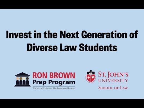 Ronald H Brown Law School Prep Program For College Students