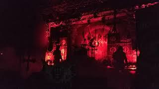 Watain Live Club 2018 Italy