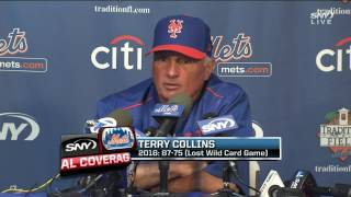 "Mets manager Terry Collins: ""You gotta embrac..."