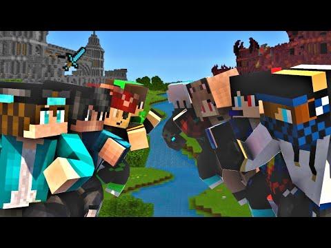 Minecraft: Clan Wars! - Herix Clan VS Galaxy Clan - PvP (4v4)