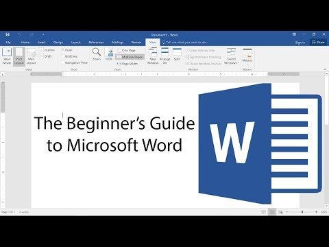 Beginner's Guide to Microsoft Word - Tutorial