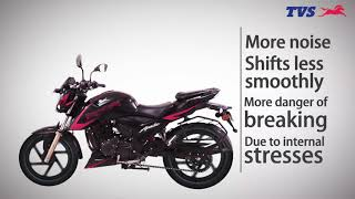 Do you know how to clean & lubricate your motorcycle's chain?