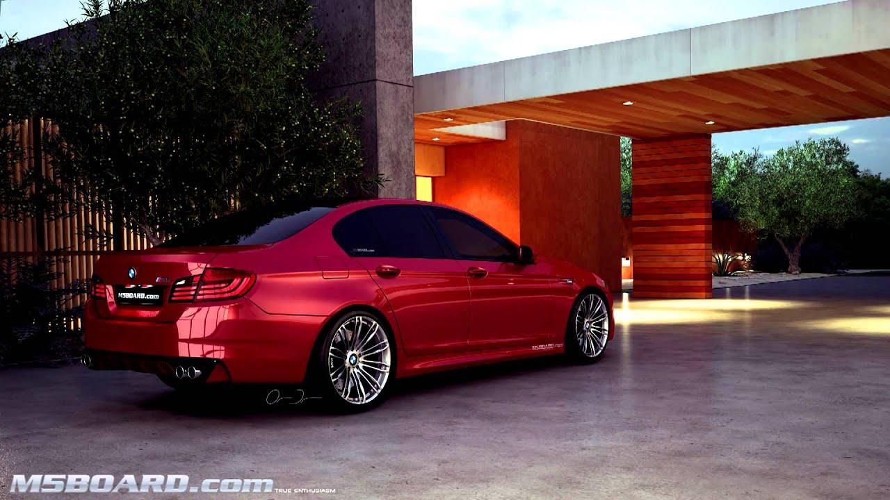 Worksheet. 3D BMW M5 F10 Interlagos Blue Indianapolis Red Frozen Grey