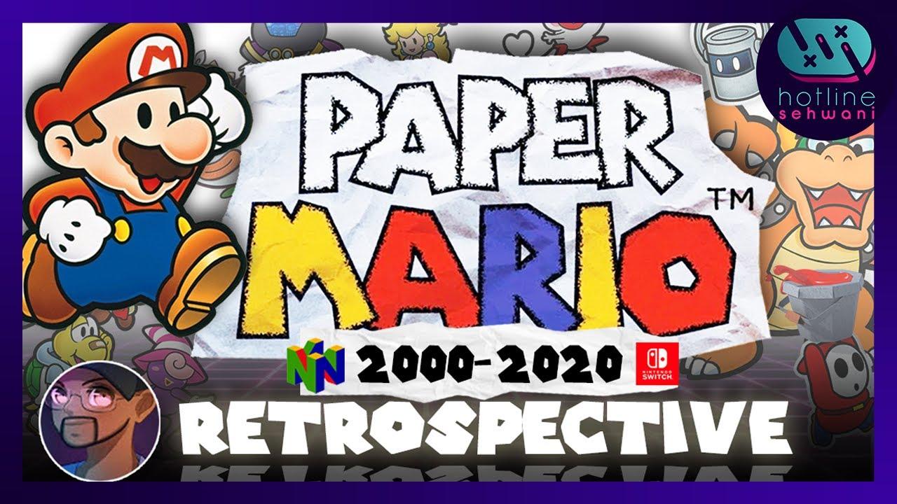Paper Mario Series Retrospective The Good, The Bad, & The Sticker Star