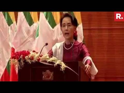 Myanmar Prepared To Start A Refugee Verification Process Says Aung San Suu Kyi