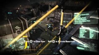 Crysis 3: Control room tutorial