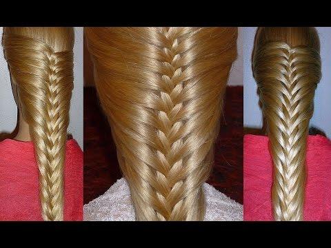 Französischen Zopf flechten.Zopffrisur/Flechtfrisur für mittel/lange Haare.Braid Hairstyle.Peinados
