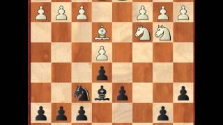 Шахматы - Как играть дебют - Английская атака-2 - 7.Nb3 - 9.Nd5! (практика) - 2 часть(1. e4 c5 2. Nf3 d6 3. d4 cd 4. Nd4 Nf6 5. Nc3 a6 6. Be3 e5 7.Nb3 Be6 8.f3 h5! 9.Nd5! Теоретическая часть ..., 2013-12-30T12:32:47.000Z)
