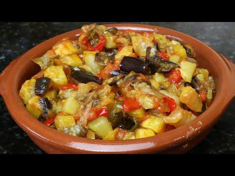 Pisto andaluz alboronía andaluza - Receta de cocina andaluza y española
