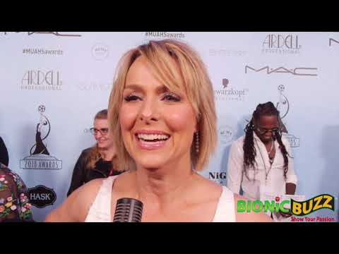 Melora Hardin Interview at Make-Up Artists & Hair Stylists Guild Awards