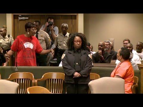 Lorenzen Wright's Mother Speaks to Sherra Wright