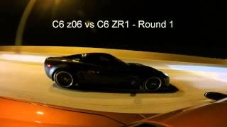 LMR C6 z06 vs Some Bikes & a ZR1