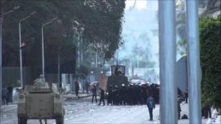 Clashes at Cairo University 10/12/13 Thumbnail