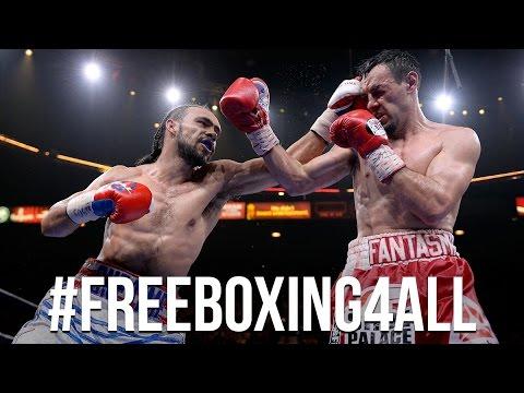 Premier Boxing Champions Celebrates #FreeBoxing4All