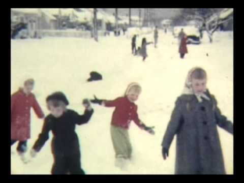 Snowstorm Marie Nancy Marje Diane ca 1956