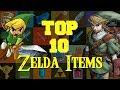 Top 10 Zelda Items!