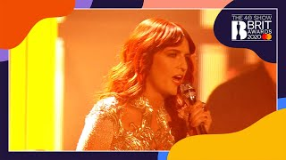 Florence + the Machine - No Light No Light (live at The BRITs 2012)